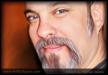 Self Portrait of Michael Spano